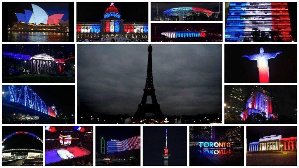 Paris and the Social Media response