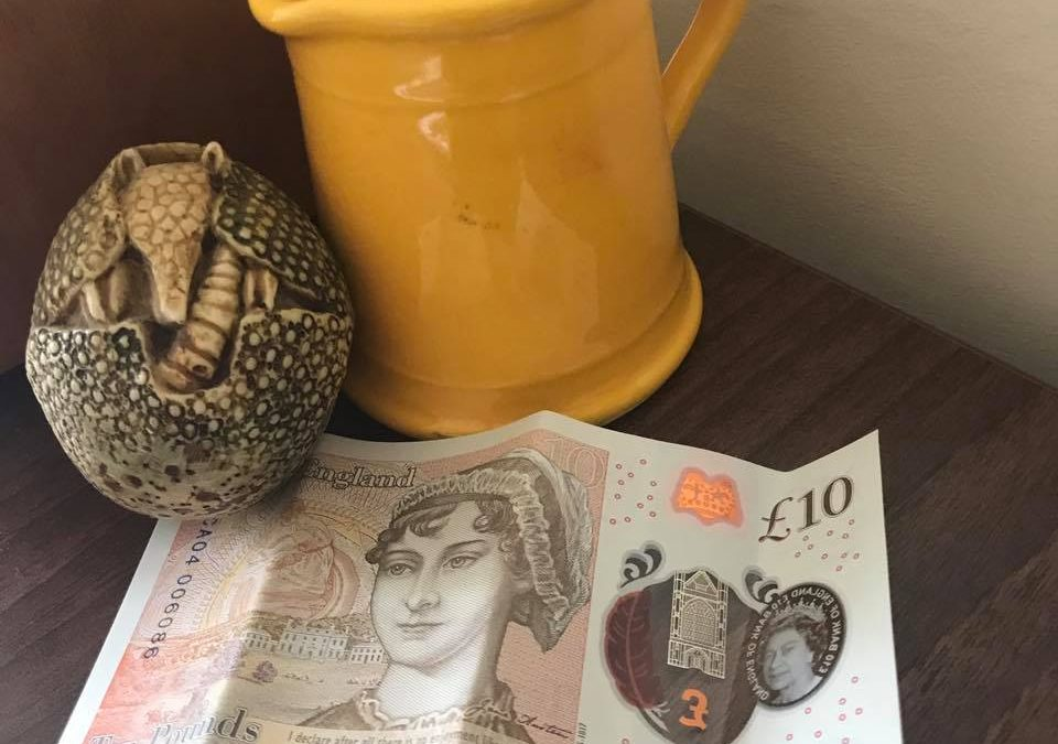 The Jane Austen Tenner: It was Twitter what won it.